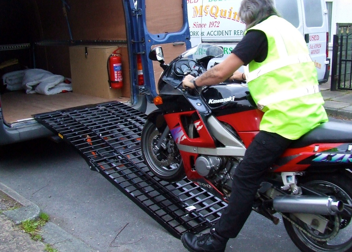Motorcycle delivery
