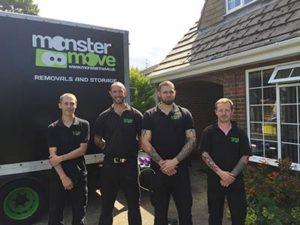 House removals Doncaster - Team shot