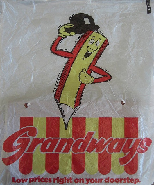 The Grandways carrier bag