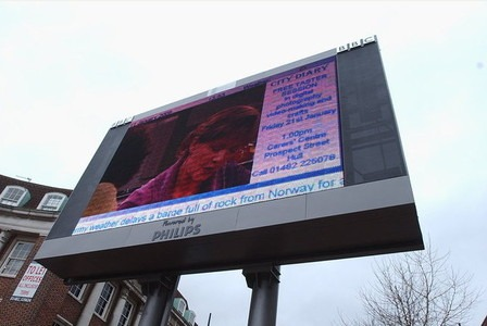 Hull's controversial 'big screen'